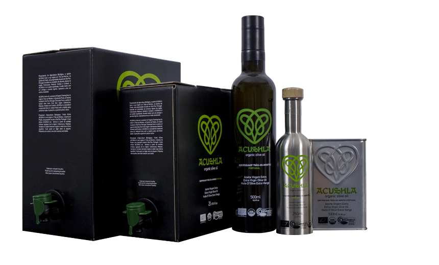 Azeite Acushla Packaging